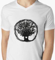 Love Life Tree V-Neck T-Shirt