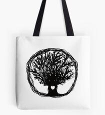 Love Life Tree Tote Bag