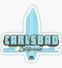 Carlsbad California. Sticker