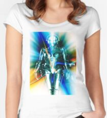 Star Light Robot Women's Fitted Scoop T-Shirt