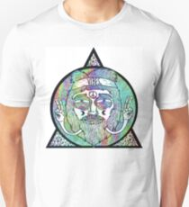 Trippy Psychedelic Hippie Design T-Shirt