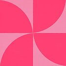mod petals- pinks  by beverlylefevre