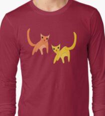 Jumpy Cats Long Sleeve T-Shirt