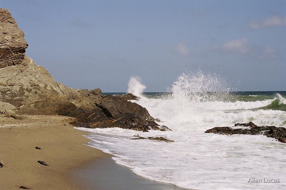 Mediterranean Waves by Allen Lucas