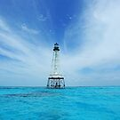 Alligator Reef Light by kathy s gillentine