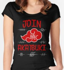 Join Akatsuki Women's Fitted Scoop T-Shirt