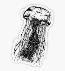 jellyfish Transparent Sticker