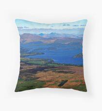SCOTLAND LOCH LOMOND  Throw Pillow