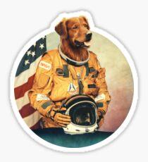 Astronimals: L. Brador (Circular) Sticker