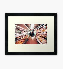 Chinatown Supermarket Framed Print