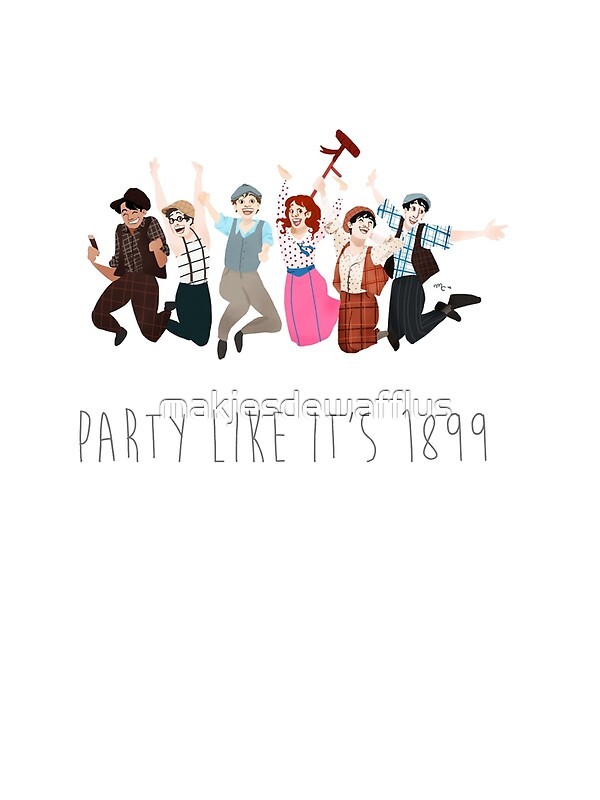 Quot Party Like It S 1899 For White Things Quot By