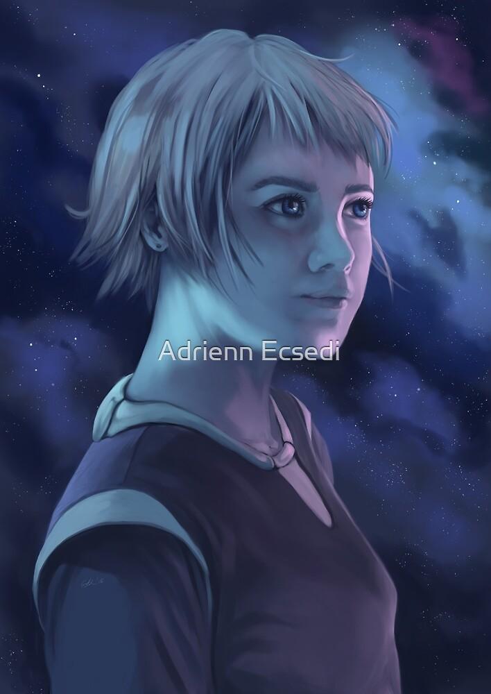 Portrait of Lillfrid by Adrienn Ecsedi