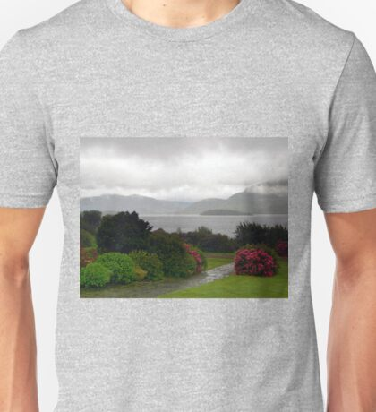 Late Afternoon Rain over Lake in Killarney T-Shirt