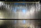 Waterfall and Reflection ~ Guinness Brewery by Lucinda Walter