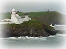 The Lighthouse & the Old Castle by Lucinda Walter