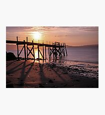 Pier at Holywood, Belfast Lough Photographic Print