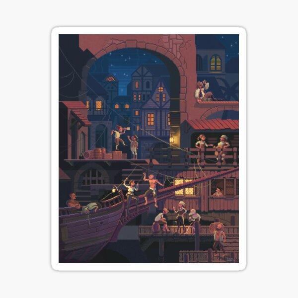 Scene #30: 'Antigua' Sticker