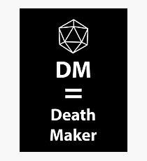 Lámina fotográfica Dungeon Master = Death Maker