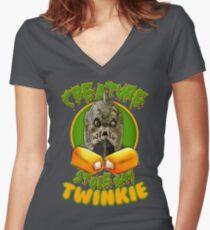 Eugene! Women's Fitted V-Neck T-Shirt