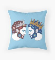 """""""Mirror, mirror on the wall, who is the fairest queen of them all"""" Throw Pillow"""