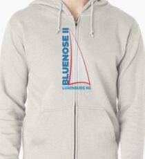 Bluenose II Lunenburg NS Zipped Hoodie