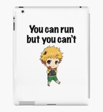 You can run but you can't Hide iPad Case/Skin