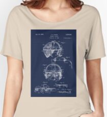 Antique Welders Goggles blueprint drawing Women's Relaxed Fit T-Shirt