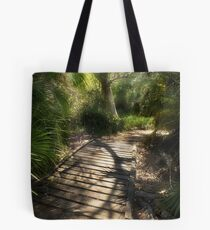 The Journey Along the Path Comes with Light & Shadows Tote Bag