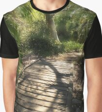 The Journey Along the Path Comes with Light & Shadows Graphic T-Shirt