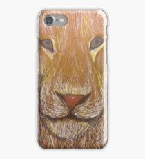 Lion in Colored Pencil iPhone Case/Skin