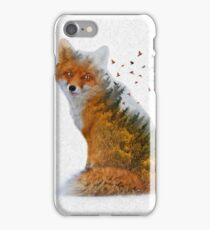 Wild I Shall Stay | Fox iPhone Case/Skin