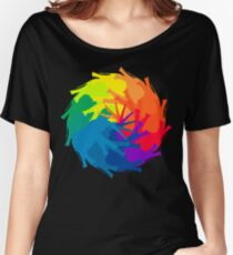 Elephant Color Wheel Women's Relaxed Fit T-Shirt