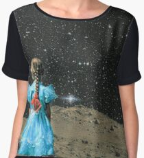Space Girl Women's Chiffon Top