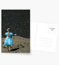 Space Girl Postcards
