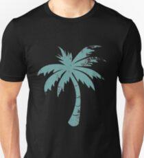 Summer Caribbean Palm Trees Unisex T-Shirt
