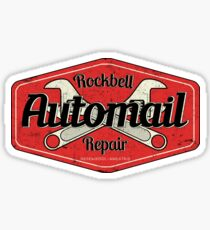 Rockbell Automail Repair Sticker