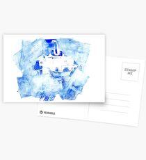 submanatee print making Postcards