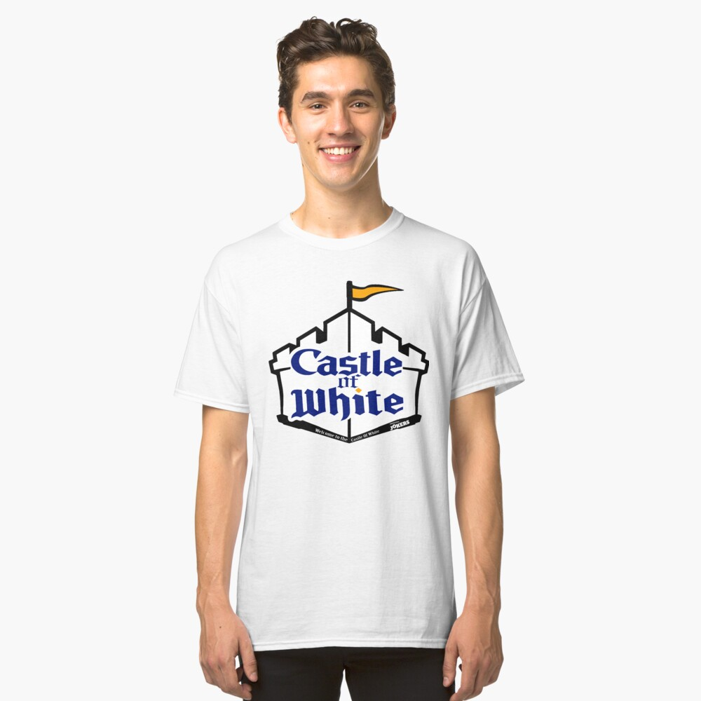 Castle Of White Classic T-Shirt Front