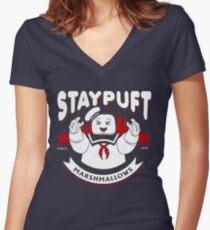 Camiseta entallada de cuello en V STAYPUFT MARSHMALLOWS