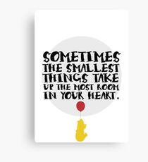 Smallest Things Canvas Print