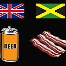 """English """"Beer-Can"""" = Jamaican """"Bacon"""" by suranyami"""