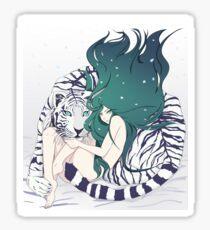 Frosty Goddess  Sticker