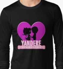 Yandere Simulator - Yandere Love Print Long Sleeve T-Shirt