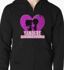 Yandere Simulator - Yandere Love Print Zipped Hoodie