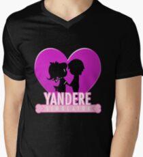 Yandere Simulator - Yandere Love Print Men's V-Neck T-Shirt