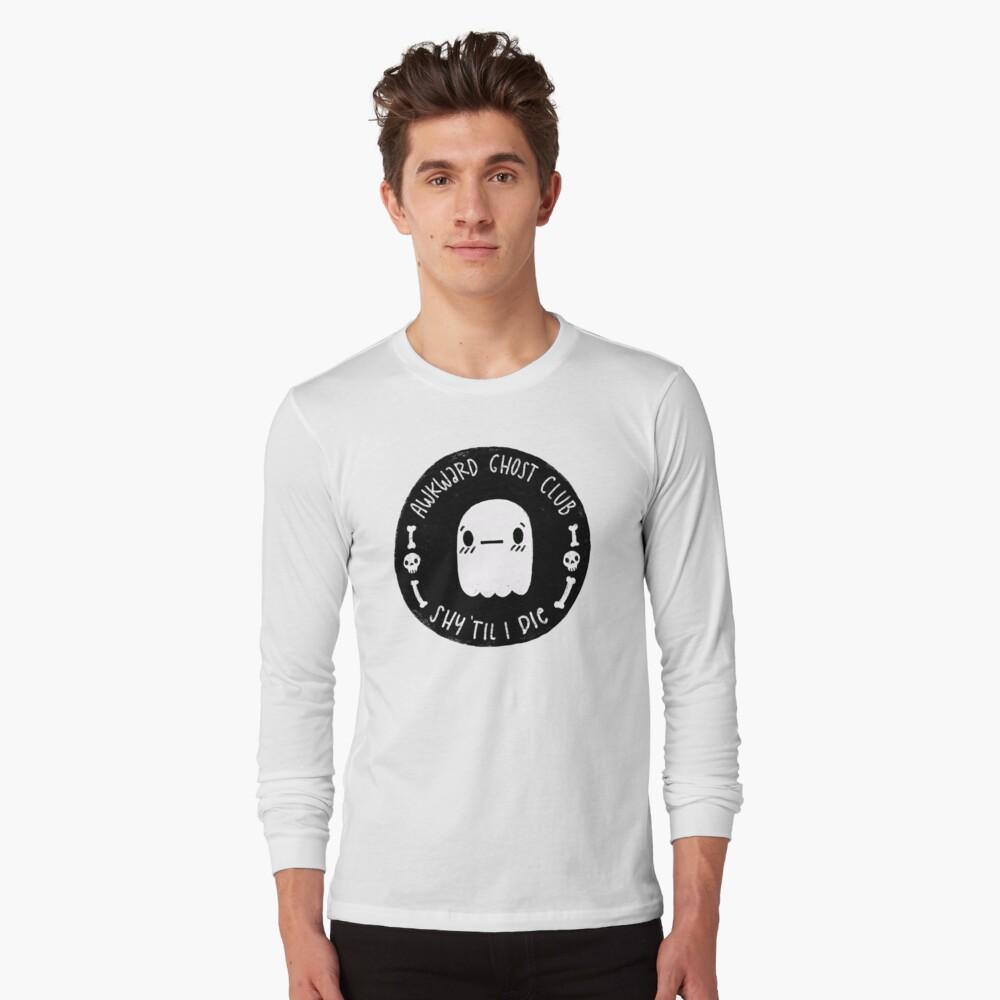 Torpe Ghost Club Black Camiseta de manga larga