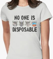 Disposable Womens Fitted T-Shirt