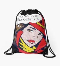 Pop Sandiego Drawstring Bag