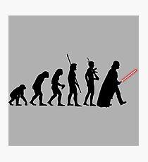 It's Evolution Baby! Photographic Print