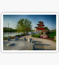 Robert D. Ray Asian Gardens 6 Sticker
